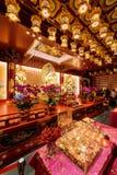 Altare dentro il tempio ed il museo della reliquia del dente di Buddha Immagine Stock Libera da Diritti