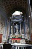 Altare dentro la basilica del san Mary Major Immagine Stock Libera da Diritti