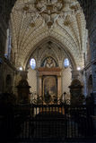 Altare dentro la cattedrale in Toledo Spain Fotografia Stock Libera da Diritti