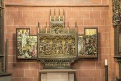 Altare dentro la cupola famosa a Francoforte Immagini Stock