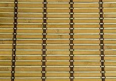 Altare di bambù del piatto Fotografia Stock Libera da Diritti