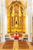 Altare di barocco dell'oro Immagine Stock