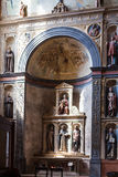 Altare di Boldieri in chiesa di Sant Anastasia Immagine Stock