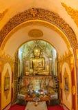 Altare di Buddha, Indein, lago Inle Immagini Stock