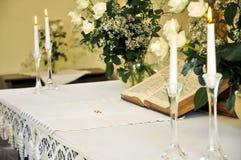Altare di cerimonia nuziale Fotografia Stock Libera da Diritti