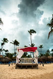 Altare di cerimonia nuziale Fotografia Stock