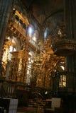 Altare di Compostela Fotografia Stock Libera da Diritti
