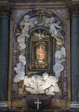 Altare di Cupa di della di Madonna di della di Cappella da Zenobio del Rosso nel 1762 Fotografia Stock Libera da Diritti