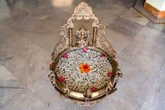 Altare di Ganesha per adorare Fotografia Stock