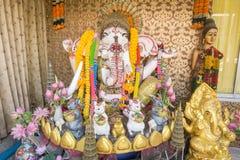 Altare di Ganesha per culto Fotografie Stock Libere da Diritti
