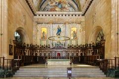 Altare di Havana Cathedral, Cuba, Avana Fotografie Stock