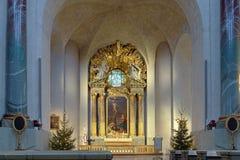Altare di Hedvig Eleonora Church a Stoccolma Immagine Stock Libera da Diritti