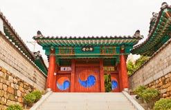 Altare di Jeonggongdan (circa 1766) a Busan, Corea Fotografie Stock Libere da Diritti