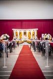 Altare di nozze Fotografie Stock