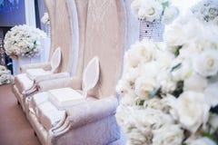 Altare di nozze Fotografia Stock