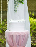 Altare di nozze nella natura Immagini Stock
