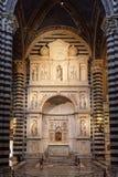 Altare di Piccolomini Fotografia Stock Libera da Diritti