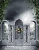 Altare di pietra 1 Immagine Stock Libera da Diritti