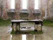 Altare di pietra Fotografie Stock