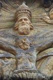 Altare di pietra nella foresta - Dio e Gesù Fotografie Stock