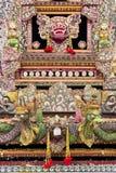 Altare di preghiera, Pura Ulun Danu Batur, Bali Fotografia Stock