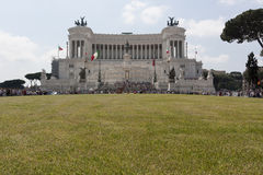 Altare di Roma della patria Immagini Stock Libere da Diritti
