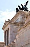 Altare di ROMA ITALIA della patria Fotografie Stock Libere da Diritti