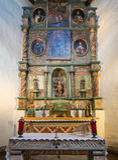Altare di San Miguel Church Fotografie Stock Libere da Diritti