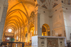 Altare di Santa Maria Immagini Stock