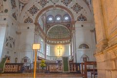 Altare di Santa Maria Immagine Stock