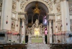 Altare di Santa Maria della Salute Fotografia Stock Libera da Diritti