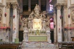 Altare di Santa Maria della Salute a Venezia Immagine Stock Libera da Diritti