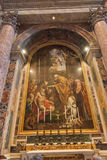 Altare di St Jerome Immagine Stock