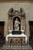 Altare di St Luke l'evangelista nella cattedrale di Zagabria Fotografia Stock Libera da Diritti