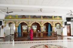 altare di Tutto colore del tempio indù Immagine Stock Libera da Diritti