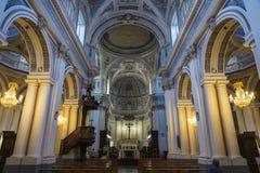 Altare di una chiesa a Ragusa, Sicilia, Italia Fotografia Stock