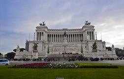 Altare di Venezia della piazza della patria Immagini Stock