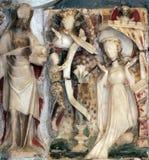 Altare di vergine Maria Fotografia Stock Libera da Diritti