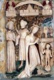 Altare di vergine Maria Immagine Stock