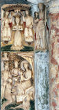 Altare di vergine Maria Fotografia Stock