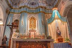 Altare di vergine Maria i Fotografia Stock Libera da Diritti