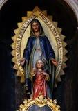 Altare di vergine Maria nella st Nicholas Cathedral a Transferrina Fotografia Stock Libera da Diritti