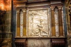 Altare di Vitus Cathedral del san Fotografie Stock Libere da Diritti