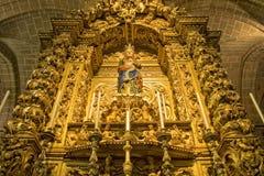 Altare dorato Immagini Stock Libere da Diritti