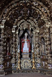 Altare dorato antico Immagini Stock
