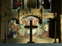 Altare e retablo Immagini Stock