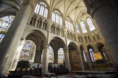 Altare e soffitto della cattedrale Immagine Stock Libera da Diritti