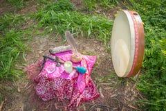 Altare e tamburo Immagine Stock Libera da Diritti