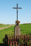 Altare esterno Fotografie Stock