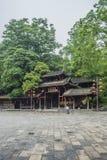 Altare för forntida stad för Kina Songtao Miao Nationality Autonomous County Miao by royaltyfria bilder